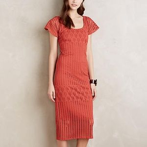 HD in PARIS Anthropologie Piacere Midi Dress